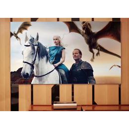 坚果SA激光电视超短焦高清智能家用投影仪无屏电视