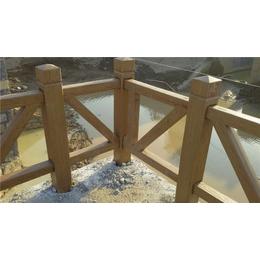 青海仿木护栏-泰安压哲栏杆-水泥仿木护栏设备