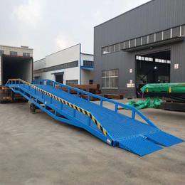 星汉8吨移动登车桥现货 甘肃省叉车装卸过桥设计