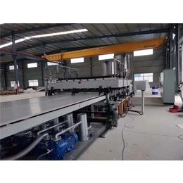 中瑞PP塑料建筑模板单螺杆板材挤出机