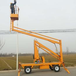 曲臂升降机 武汉市自行式多角度升降作业平台现货