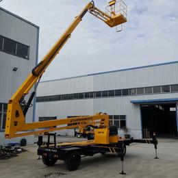14米曲臂升降机 襄樊市电动升降作业车设计制造