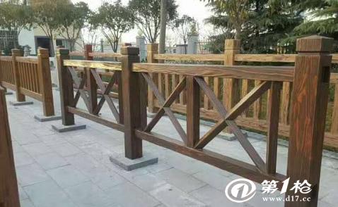 仿木护栏掉漆是为什么??