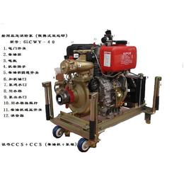 船用消防泵50CWY-27移动式船用应急消防泵CCS证书