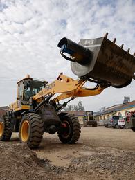 效率高的混凝土搅拌斗铲车安装的搅拌斗搅拌运输一体机