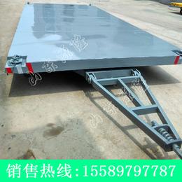 源隆定做各种集装箱平板拖车 7吨集装箱拖车 集装箱底盘板车