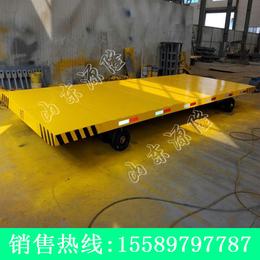 源隆定做各种8吨厂区平板拖车 8吨实心胎板车 工厂托盘拖车