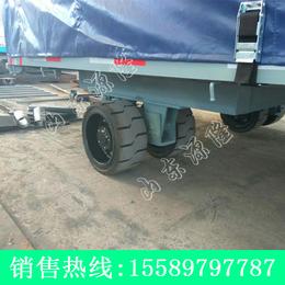 源隆定做15吨集装箱平板车 厂区集装箱拖车 15吨平板拖车