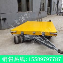 源隆定做各种25T双牵引平板车 两头用平板拖车 双向平板拖车