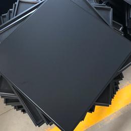 600X600黑色铝扣板 跌级铝扣板 60X60冲孔铝扣板