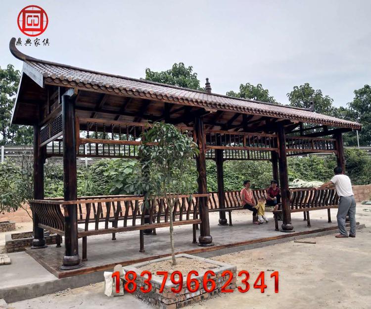 木扇形长廊03