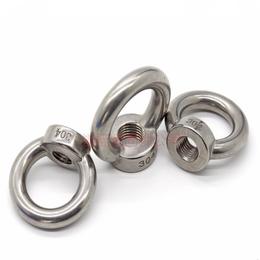 不锈钢吊环螺母 不锈钢A2-70吊环螺帽生产厂家