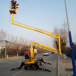14米曲臂升降机 汉川市柴油机升降作业车报价 液压举升机现货