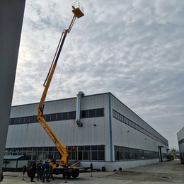 14米曲臂升降机 随州市室外维修升降作业平台报价 升降车供应