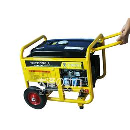 190A汽油发电电焊机使用说明