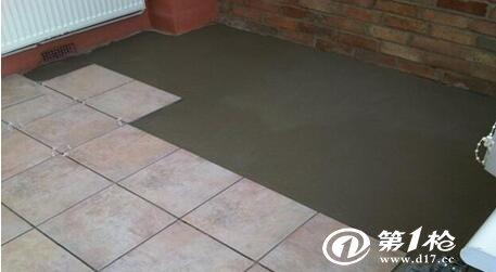 瓷砖粘合剂使用方法