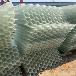廣饒縣內加強筋耐腐阻燃玻璃鋼填料 沉淀池蜂窩填料廠