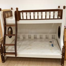 实木家具 松木上下铺儿童床 环保母子床 双层多功能高低床定制缩略图
