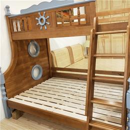南昌儿童家具全屋定制 松木上下铺床销售 子母床直销缩略图