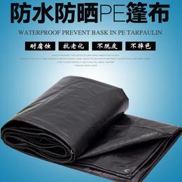 纯黑色防水篷布