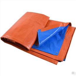 橙蓝双色PE篷布缩略图