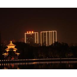 山西仁和鑫光电(图)-景观照明亮化-太原照明亮化