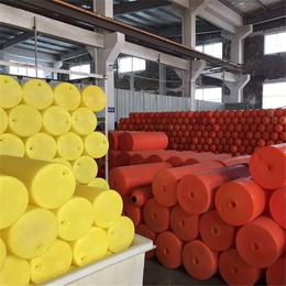 广东深圳河道拦截水面青苔漂浮物环保塑料材质拦污塑料浮漂