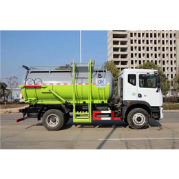配合泔水桶使用的10吨餐余垃圾车厂家售价介绍