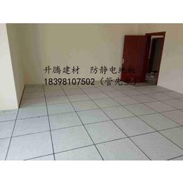 蓬安防静电地板全钢无边静电地板陶瓷防静电地板PVC抗静电地板
