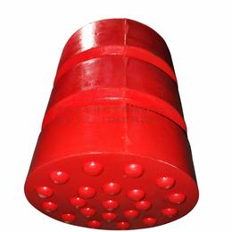 JHQ-A-10安尔特行车起重配件聚氨酯缓冲器防液压红色碰头