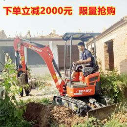 供应济南山鼎1吨左右的农用小型挖掘机