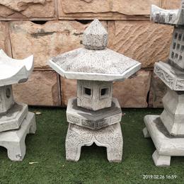 仿古石雕石灯庭院户外园林景观青石灯笼
