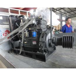 固定动力型ZH4100P柴油机带粉碎机粉碎石头