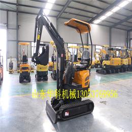山东华科机械 17型挖土机多少钱一台 进口挖掘机