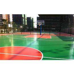 茂名弹性丙烯酸球场地坪价格 保合地坪漆包工包料