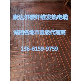 上海康达尔发热电缆厂家  发热电缆安装