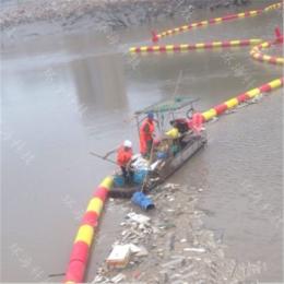 河道高密度聚乙烯分子水上拦垃圾水草水浮莲浮筒