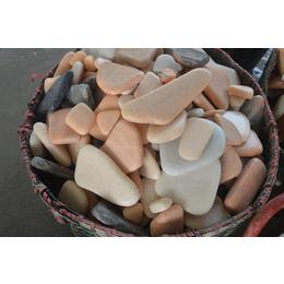 花盆彩石子厂家大量批发石子 可点缀花园在视觉上有清洁的感觉