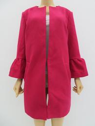 秋冬女士時尚氣質長袖披風中長款開衫外套
