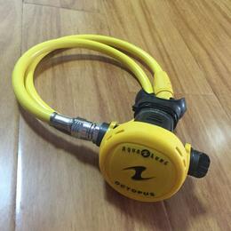 全国供应AQUALUNG进口二级呼吸调节器 黑黄两款