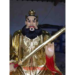 佛像雕塑厂供应玻璃钢张天师像 道教神像1.8米高 张天师价格
