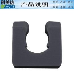 云浮电热水器U形硅胶垫片配件实用性强深圳硅胶制品加工不渗水