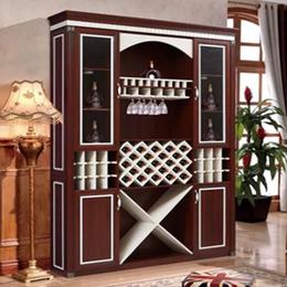 新款原木铝合金茶几 全铝酒柜 全铝浴室柜铝材家具定制