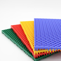 衡水幼儿园室外悬浮地板 防滑悬浮式拼装地板 户外塑料运动地板