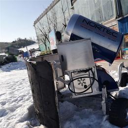 内蒙造雪机生产厂家人工造雪机可以在各种场合造雪