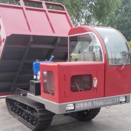 货场履带装载运输车 油耗低履带运输自卸车