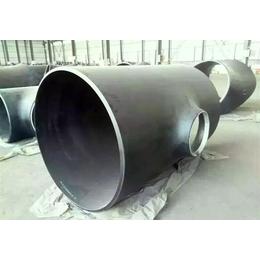 镇江DN400碳钢等径焊接三通价格