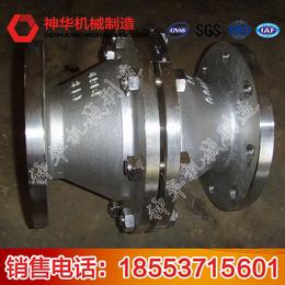 山东神华机械厂家直供煤矿瓦斯输送管道干式阻火器