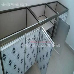 铝合金橱柜平价瓷砖橱柜瓷砖桌面全铝家具铝型材批发供应厂家