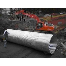 金属波纹涵管的设计以及选材要求